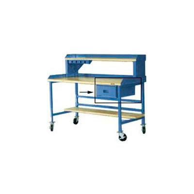 "Built-Rite Steel Drawer, 15""W x 20""D, Blue"