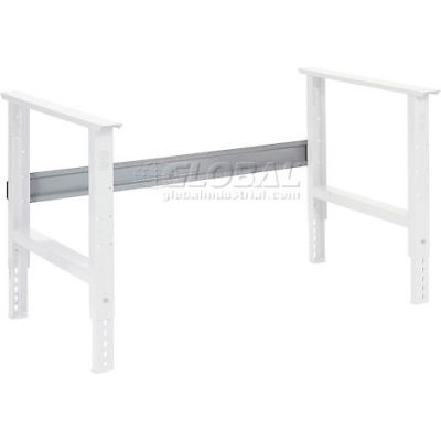 "Global Industrial™ Workbench Stringer 72""W x 6""H for C-Channel Open Leg - Gray"