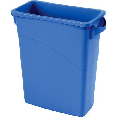 Rubbermaid® Recycling Can, 16 Gallon, Blue
