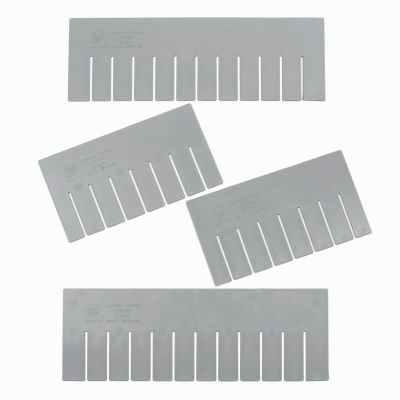 Global Industrial™ Length Divider DL93120 for Plastic Dividable Grid Container DG93120, Qty 6