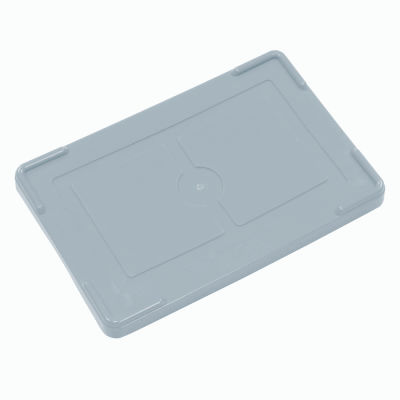"""Global Industrial™ Lid COV91000 for Plastic Dividable Grid Container, 10-7/8""""L x 8-1/4""""W, Gray - Pkg Qty 10"""