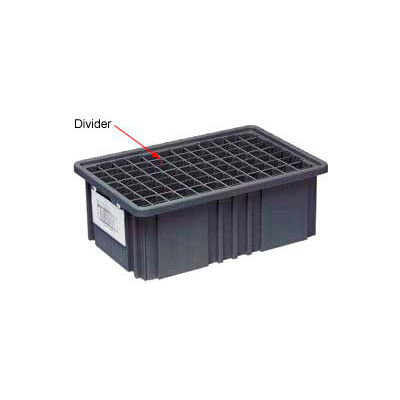 Quantum Conductive Dividable Grid Container Long Divider - DL93060CO, Sold Pack Of 6