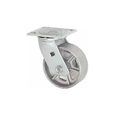 "Faultless Swivel Plate Caster 1406-6 6"" Steel Wheel"