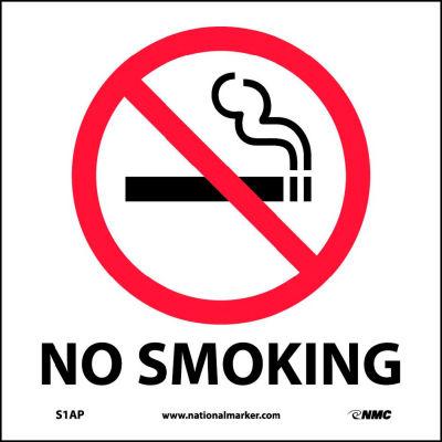 Graphic Facility Signs - No Smoking - Vinyl 4x4