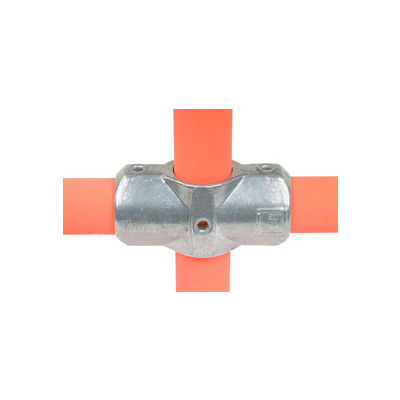 """Kee Safety - L26-8 - Two Socket Cross 1.5 Inch Pipe Fitting, 1-1/2"""" Dia."""