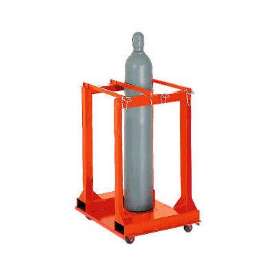 Cylinder Storage Mobile Forkliftable Caddy