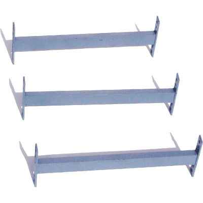 """Global Industrial™ 72"""" Cantilever Brace For 10', 12', 14' Uprights, 3000-5000 Series, 3/Pack"""