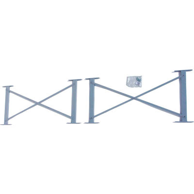 """Global Industrial™ 60"""" Cantilever Brace For 16' Uprights, 3000-5000 Series, 4/Pack"""