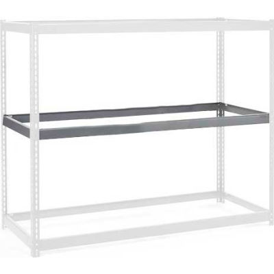 """Global Industrial™ Additional Level For Wide Span Rack 48""""Wx24""""D No Deck 1200 Lb Capacity, Gray"""