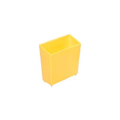 Global Industrial™ Little Bin For Plastic Bins - 4 x 2 x 4 Yellow - Pkg Qty 50