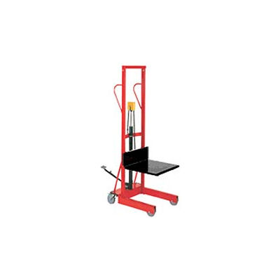 Wesco® Compact Lift Truck Foot Pedal Lift with Platform 260150 500 Lb. Cap.
