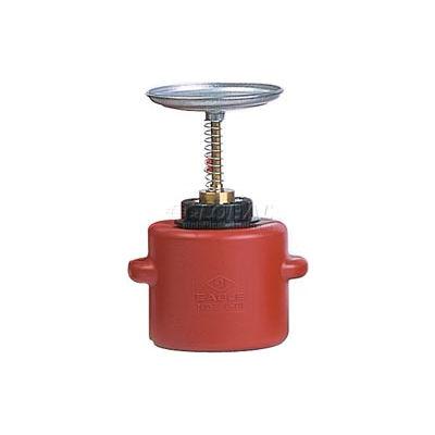 Eagle Safety Plunger Can - 1 Quart Polyethylene, P-711