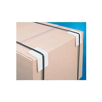 White Pack of 480 Top Pack Supply Strapping Protectors.160 3 x 3 x 6