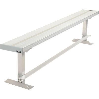 Aluminum Team Bench - 6'L