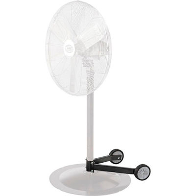 """Global Industrial™ Fan Dolly for Pedestal Fans for 1-1/2-2-1/4 Columns & 28"""" and smaller bases"""