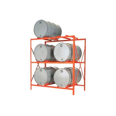 Drum Storage Rack - 6 Drum Storage - DR6-3H