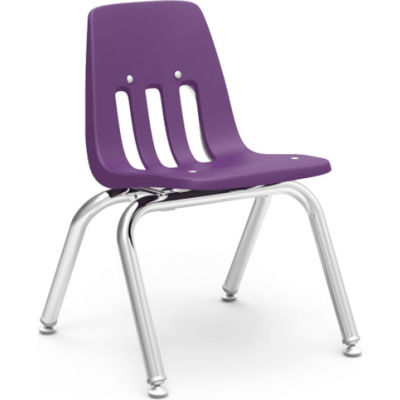 Virco® 9012 Classic Series™ Classroom Chair - Purple Vented Back - Pkg Qty 4