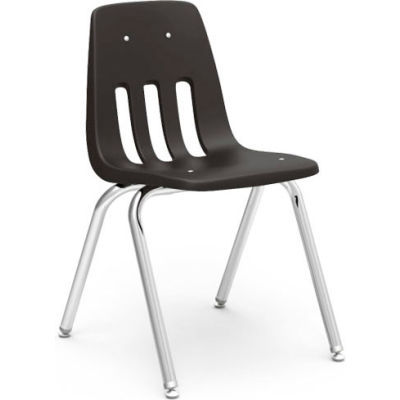 Virco® 9018 Classic Series™ Classroom Chair - Black Vented Back - Pkg Qty 4