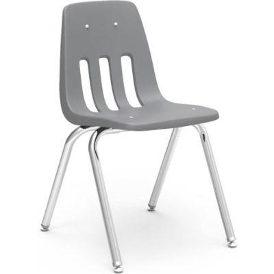 Virco® 9018 Classic Series™ Classroom Chair - Gray Vented Back - Pkg Qty 4