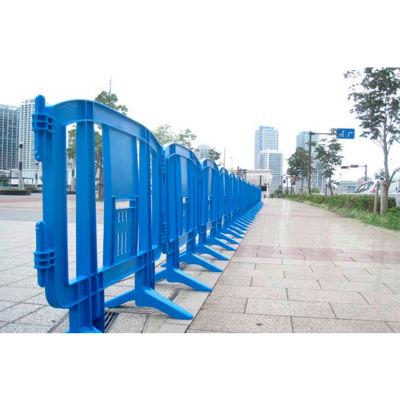 MINIT™ Plastic Barricade, Interlocking, Blue