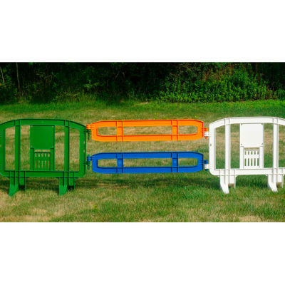 Xtendit® Movit Plastic Barricade Extension, Blue