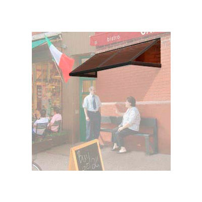 Smoking and Sidewalk Shelter Sloped Roof 6' x 5'