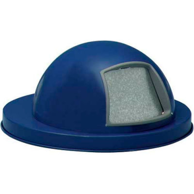 Steel Dome Top for Mesh Trash Container - Blue - 5555-DB