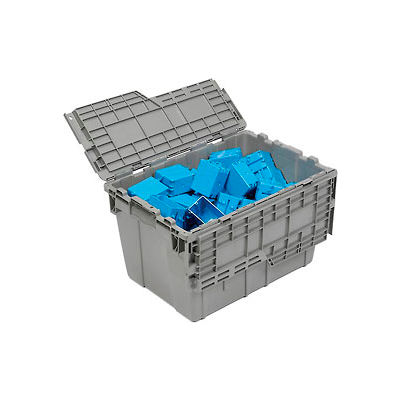 ORBIS Flipak® Distribution Container FP182  - 21-13/16 x 15-3/16 x 12-7/8 Gray