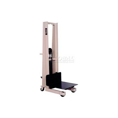 """Beech® Compact Foot Pedal Operated Work Positioner PS-2480 80"""" Lift 1000 Lb. Cap."""