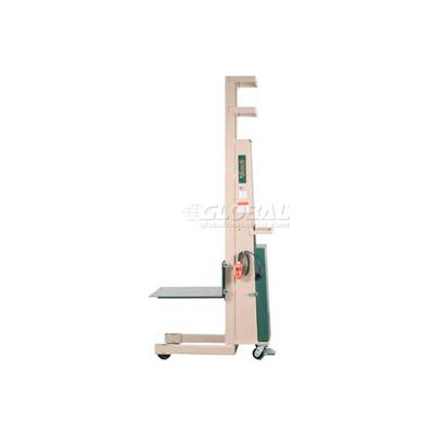 """Beech® Compact Battery Operated Work Positioner PS-2470B 70"""" Lift 1000 Lb. Cap."""