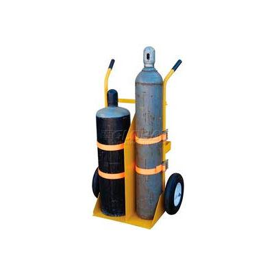 Welding Cylinder Cart CYL-E-FF Foam-Filled Wheels 34-1/4 x 22-13/16