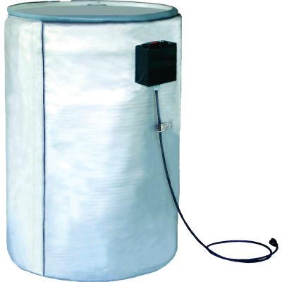 BriskHeat® Full Coverage Drum Heater For 55 Gallon Metal Drum, Up To 450°F, 240V