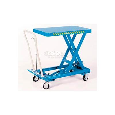 Bishamon® MobiLift™ Scissor Lift Table BX-25 660 Lb. Capacity
