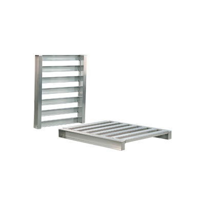 New Age Aluminum Pallet 40x48x5 Two Way