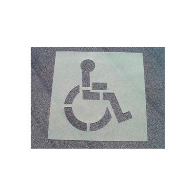 Stencil Handicapped Parking, Heavy Duty, PMS50