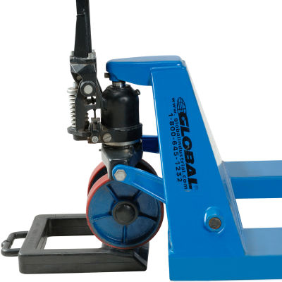 Global Industrial™ Pallet Jack Stop With Skid Truck Chock