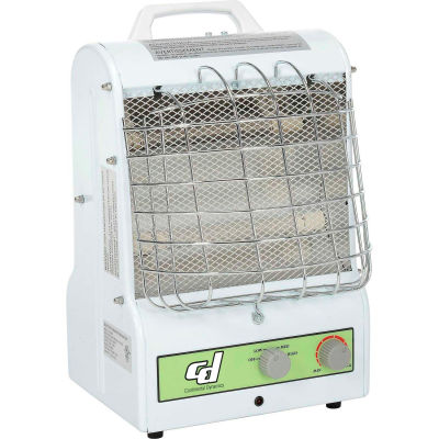 Continental Dynamics® Portable Electric Heater Catchers Mask 1500W