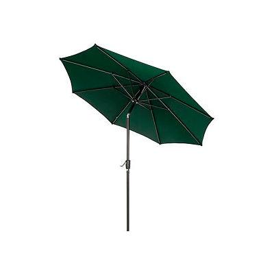 Global Industrial™ Outdoor Umbrella - Tilt Mechanism - Olefin - 8-1/2', Vert
