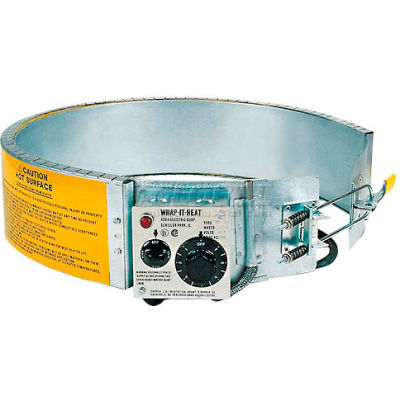 Drum Heater For 55 Gallon Steel Drum, 200-400°F, 120V