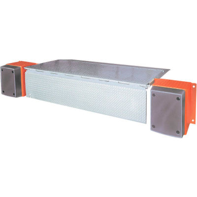 """DLM HED Series AC Powered Edge of Dock Leveler 72""""W Usable & 110""""W Overall 20,000 Lb. Cap."""
