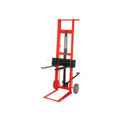 Wesco® Foot Pedal Adjustable Forks Lift Truck 260007 2 Wheel Style 750 Lb.