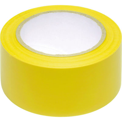 "INCOM® Safety Tape Solid Yellow, 3""W x 108'L, 1 Roll"