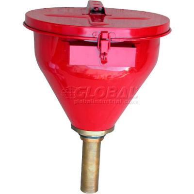 "6"" Shaft Self-Closing Drum Funnel DF-S"