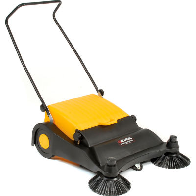 Global Industrial Push Sweeper