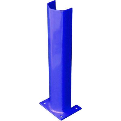 """1/2"""" épais 24"""" H Post acier protecteur bleu"""
