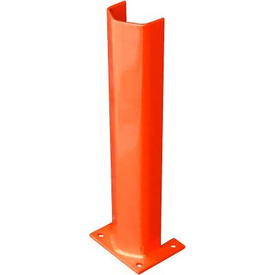 """1/2"""" épais 24"""" H Post acier protecteur Orange"""