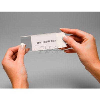 "Tri-Dex Label Holder TR1300 1"" x 3"" for Stacking Bin Price per Pack of 25 - Pkg Qty 2"