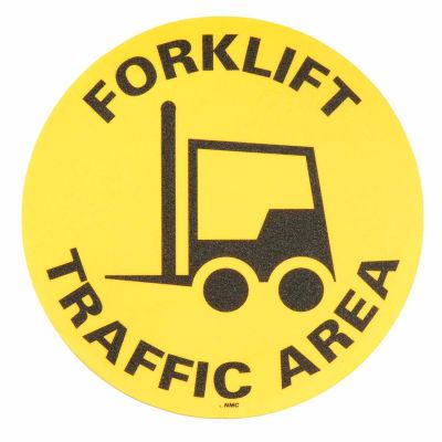 Floor Signs - Forklift Traffic Area