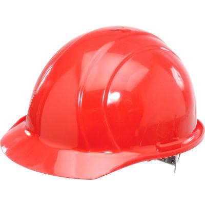 ERB™ 19764 Americana Hard Hat, 4-Point Pinlock Suspension, Red