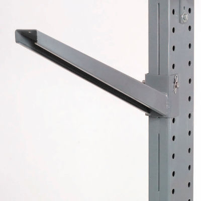 """Global Industrial™ 42"""" Cantilever Inclined Arm, 1100 Lb. Cap., For 3000-5000 Series"""